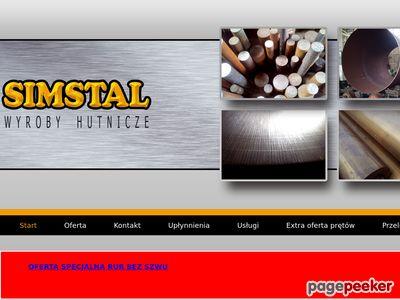 Simstal - Hurtownia stali