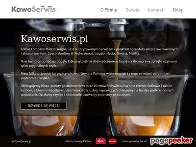 Ekspresy Kraków - Kawoserwis.pl